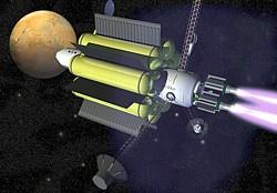VASIMR-Sonde Grafik