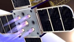 CubeSat-Antrieb Grafik