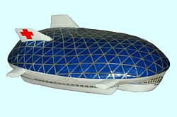 Turtle Airship Design Modell