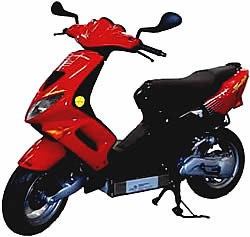 AQUON Waserstoffmoped