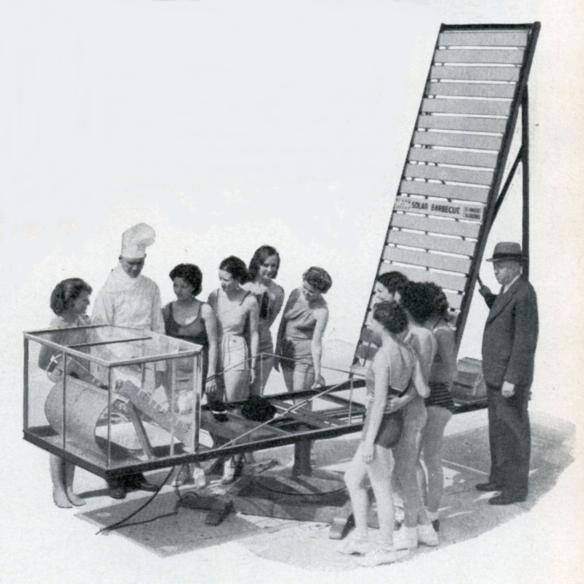 Sonnenenergie geschichte