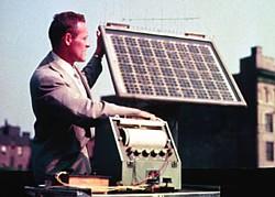 Die geschichte der solarzelle