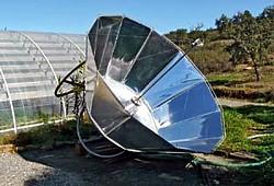 Solarstirling anlage