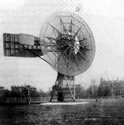 Erste windkraftanlage 1887