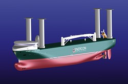 Enercon E-Ship 1 Grafik