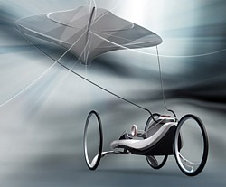 Kite Car Grafik