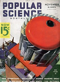 Titelseite der Popular Science vom November 1935